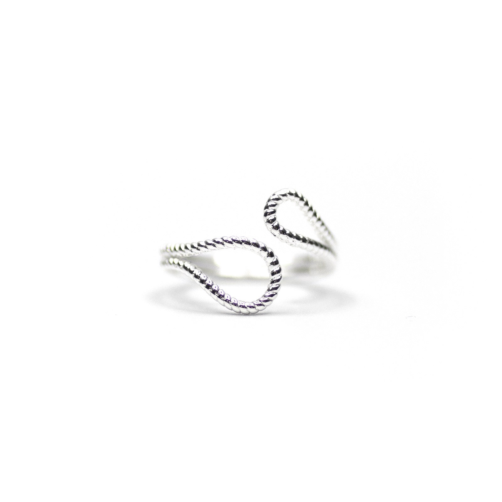 Bague Madeline Loch Ness Argent